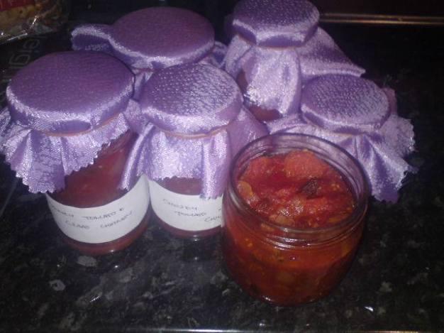 tomato and chilli chutney