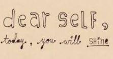 self letter