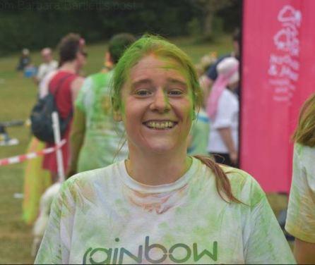 rainbow run 2018 face