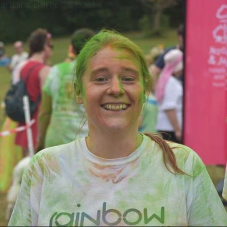 rainbow run 2018 face